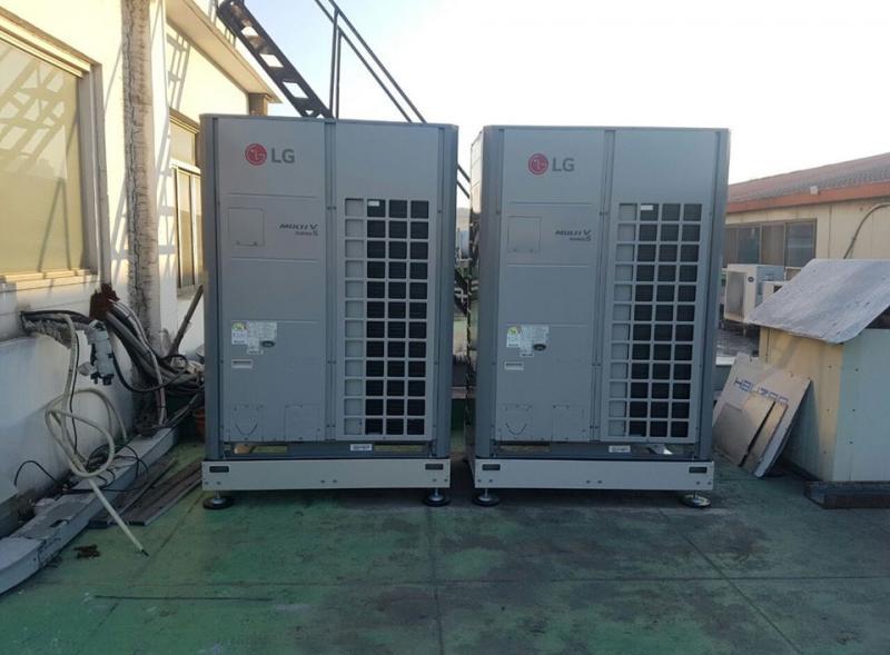 빙그레 도농공장 사무동 냉난방기 설치공사