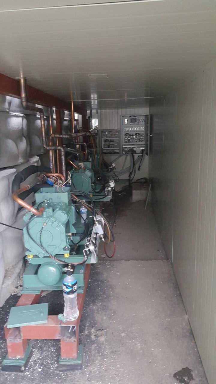 냉동기유니트기계설치