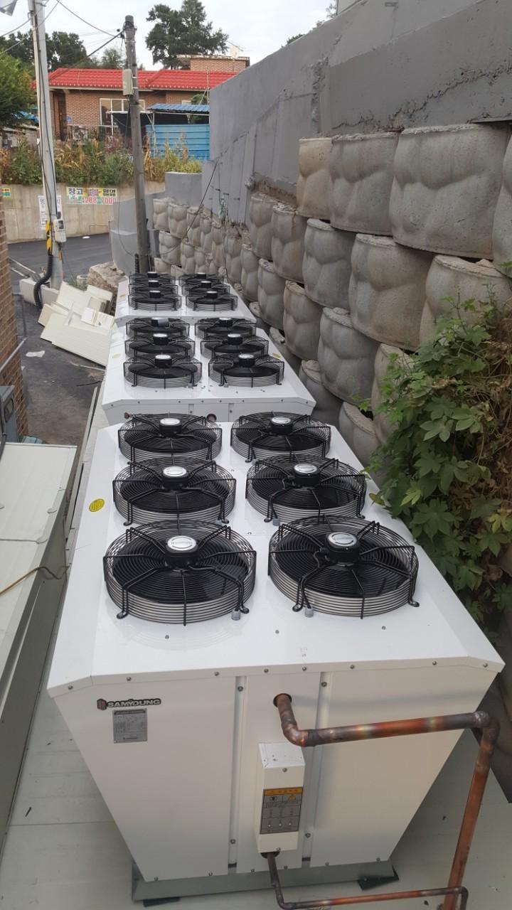 냉동기유니트설치