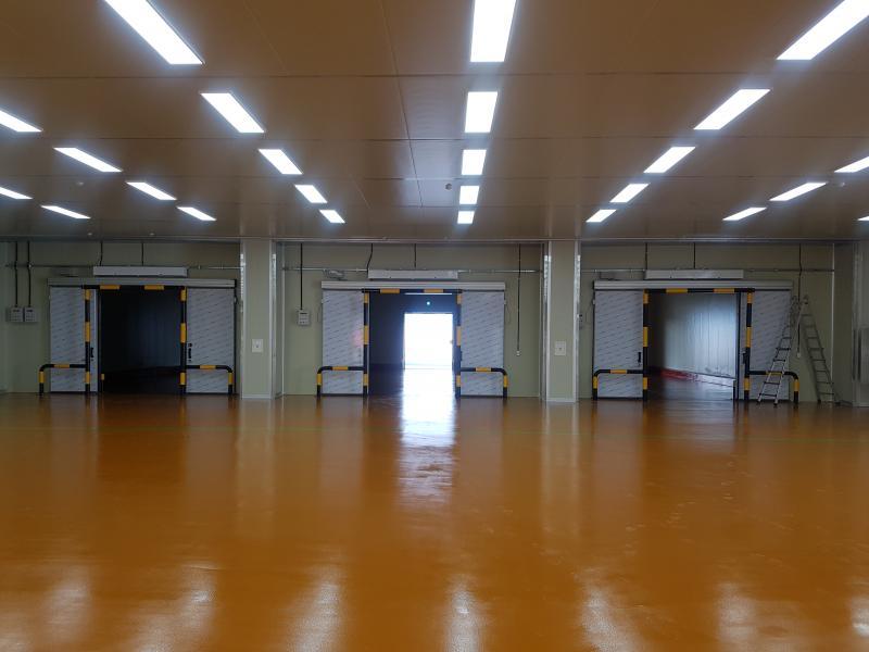 냉장.냉동 도어 및 바닥공사